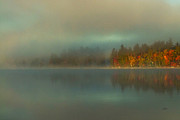 Adirondacks Photo Posters - Just Yesterday Morning Poster by Brian Pelkey