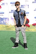 Justin Bieber At Arrivals For 2011 Bet Print by Everett