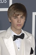 The 53rd Annual Grammy Awards Prints - Justin Bieber At Arrivals For The 53rd Print by Everett