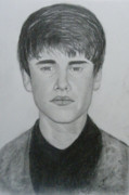 Justin Bieber Drawings Originals - Justin Bieber by Handoko Aji