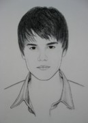 Lynet Mcdonald Art - Justin by Lynet McDonald