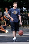 Basketball Collection Photo Prints - Justin Timberlake, Films A Scene Print by Everett