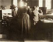 Punishment Prints - Juvenile Court, 1910 Print by Granger