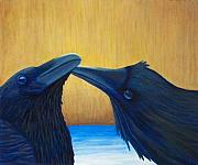 Ravens Prints - K and B Print by Brian  Commerford