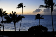 Beach Scenery Photos - Kaanapali Beach Maui by Rosy Kueng