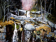 James Gallagher Prints - Kaaterskill Print by James Gallagher