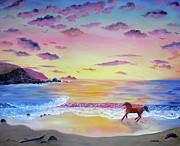 Laura Iverson - Kachina at Rockaway Beach
