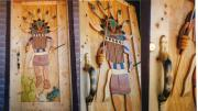 Recycled Reliefs - Kachina Wooden Door by Patrick Trotter