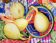 Gourds Paintings - Kadeidoscopic Gourds by Joyce Eesley