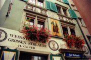 Painted Food Prints - Kaisers Reblaube in Zurich Switzerland Print by Susanne Van Hulst