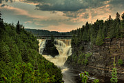 Green Bay Framed Prints - Kakabeka Falls After a Storm Framed Print by Jakub Sisak