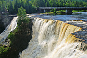 Kakabeka Falls Print by Bill Morgenstern