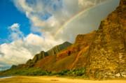Amber Crago - Kalalau Rainbow