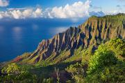 Michael Tapestries Textiles - Kalalau Valley 2 by Monica & Michael Sweet - Printscapes