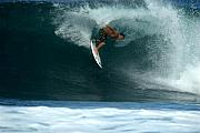 Wave Art Photos - Kalani Chapman at Rocky Point by Brad Scott