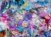 Entertaining Mixed Media Prints - Kaleidoscope Print by Don  Wright