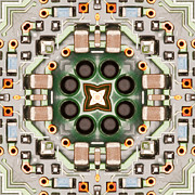 Printed Photo Originals - Kaleidoscope PWB4898 by Tom Clabough