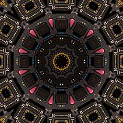 Kaleidoscopic Calculator Print by Rolf Bertram