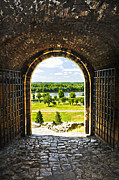 Arches Prints - Kalemegdan fortress in Belgrade Print by Elena Elisseeva