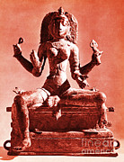 Hindu Goddess Photo Posters - Kali Poster by Photo Researchers