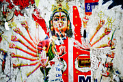 Goddess Durga Photo Posters - KaliYuga Poster by Dev Gogoi