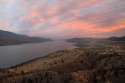 Kamloops Prints - Kamloops lake British Columbia Canada Print by Pierre Leclerc