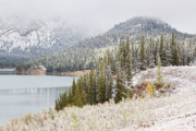 Binh Prints - Kananaskis Country Winter Snow Canadian Rockies Print by Binh Ly
