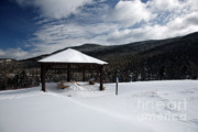 Snow-covered Landscape Prints - Kancamagus Highway - White Mountains New Hampshire Print by Erin Paul Donovan