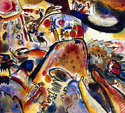 1913 Art - Kandinsky Small Pleasures by Granger