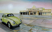 Vw Beetle Originals - Kandy Kolored Kool by John Lowerson