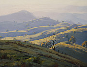 Signed . Nature Paintings - Kanimbla Valley Morning by Graham Gercken