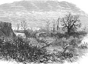 West Fork Photos - Kansas: Beaver Dam, 1867 by Granger