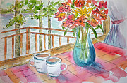 Balcony Originals - Kapasiwin Coffee by Pat Katz