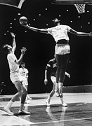 Basketball Collection Photo Prints - Kareem Abdul Jabbar (1947-) Print by Granger