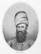 Turban Framed Prints - Karim Khan (1699-1779) Framed Print by Granger