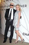 Karl Lagerfeld, Kate Bosworth Wearing Print by Everett