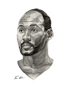 Karl Paintings - Karl Malone by Tamir Barkan
