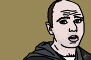 Smart Digital Art - Karl Pilkington by Jera Sky