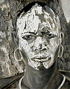 Fine Art - People Prints - Karo Man Print by Enzie Shahmiri