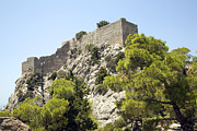 Greece Photos . Photos - Kastrou Monolithos Rhodes Greece by Ian Murray