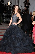 Ball Gown Photo Metal Prints - Kate Beckinsale Wearing A Marchesa Metal Print by Everett