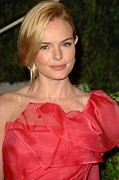 Updo Metal Prints - Kate Bosworth At Arrivals For Vanity Metal Print by Everett