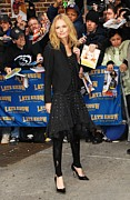 The Late Show With David Letterman Posters - Kate Bosworth Wearing A Chloe Dress Poster by Everett