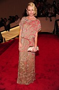 Metropolitan Museum Of Art Photos - Kate Bosworth Wearing A Gown by Everett