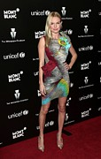 Print Dress Prints - Kate Bosworth Wearing A Peter Pilotto Print by Everett