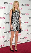 Leopard Print Framed Prints - Kate Bosworth Wearing A Proenza Framed Print by Everett