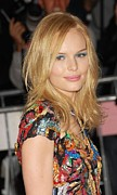 Applique Posters - Kate Bosworth Wearing A Vintage Chanel Poster by Everett