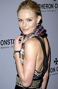 Lip Gloss Prints - Kate Bosworth Wearing Etro At Arrivals Print by Everett