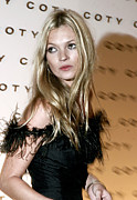 Supermodel Posters - Kate Moss  At The Coty 100th Poster by Everett