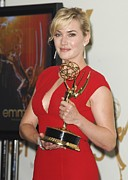 Award Prints - Kate Winslet In The Press Room For The Print by Everett